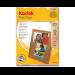 Kodak Photo Paper 10x15 60 sheets