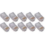 4XEM 4X50PKC5E Grey,Transparent 50pcs cable boot