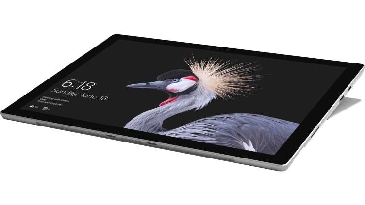 Microsoft Surface New Pro + Type Cover tablet Intel® Core™ M m3-7Y30 128 GB Black,Silver