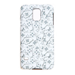Sony Playstation Samsung S5 Controller All-Over Pattern Phone Cover, One Size, White/Grey (PH128826SNYSS5