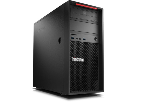Lenovo ThinkStation P410 Intel® Xeon® E5 v4 E5-1650V4 16 GB DDR4-SDRAM 256 GB SSD Black Mini Tower Workstation