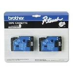 Brother TC20 Black / White Label Tape (Standard Yield)
