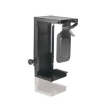 Newstar CPU-D075BLACK Desk-mounted CPU holder Black CPU holder