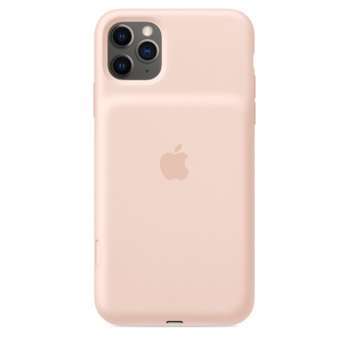 Apple iPhone 11 Pro Max Smart Battery Case - Pink Sand