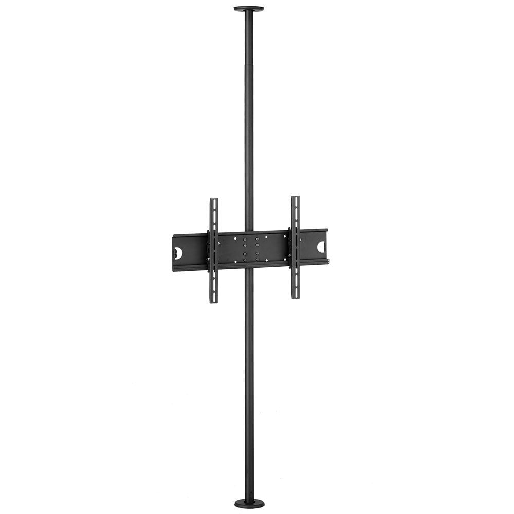 "Lindy 40968 flat panel floorstand 152.4 cm (60"") Fixed flat panel floor stand Black"