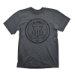 BIOSHOCK Men's Columbia Customs & Excise 1907T-Shirt, Small, Dark Grey (GE1706S)