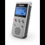 Philips Voice Tracer DVT1300 dictaphone Interner Speicher Schwarz, Silber