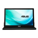 "ASUS MB169B+ computer monitor 39.6 cm (15.6"") 1920 x 1080 pixels Full HD LED Black,Silver"