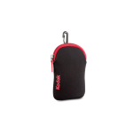 KODAK Camera Case Neoprene Black / Red  9.5cm x 6.5cm x 3cm fits FZ43 FZ53