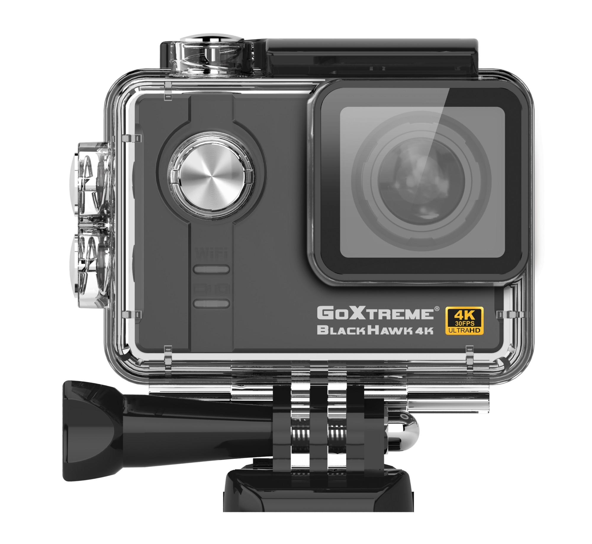 Easypix GoXtreme BlackHawk 12.4MP 4K Ultra HD Wi-Fi action sports camera