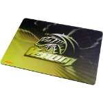 Akasa AK-MPD-02YL mouse pad Black,Yellow