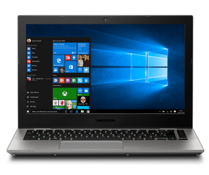 "MEDION AKOYA S3409 2.4GHz i3-7100U 13.3"" 1920 x 1080pixels Grey Ultrabook"