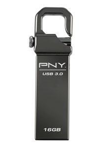PNY Hook Attache 16GB USB flash drive USB Type-A 3.2 Gen 1 3.1 Gen 1 Black
