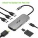 Acer HP.DSCAB.008 base para portátil y replicador de puertos Alámbrico USB 3.2 Gen 2 (3.1 Gen 2) Type-C Plata
