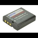 2-Power Digital Camera Battery 3.7V 1400mAh