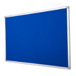 Bi-Office FA0543790 insert notice board Indoor Blue Aluminium