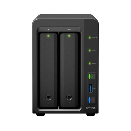 Synology DS718PL8TBSEA DiskStation DS718+ 8TB IronWolf Dual Bays NAS Server