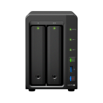 Synology DiskStation DS718+ Ethernet LAN Compact Black NAS