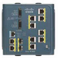 Cisco IE-3000-8TC Managed L2 Fast Ethernet (10/100) Blue network switch