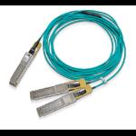 Mellanox Technologies MFS1S50-H010E Glasfaserkabel 10 m QSFP56 2x QSFP56 LSZH Aqua