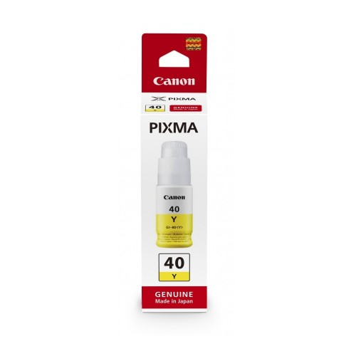Canon 3402C001 (GI-40 Y) Ink cartridge yellow, 7.7K pages