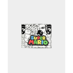 Nintendo Super Mario AOP Bifold Wallet Multicolour