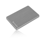 Verbatim Store 'n' Go ALU Slim Portable Hard Drive 2TB Space Grey