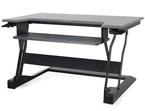 Ergotron WorkFit-T computer desk Black