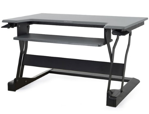Ergotron WorkFit-T computer desk Black
