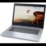 """Lenovo IdeaPad 320 Blue Notebook 35.6 cm (14"""") 1366 x 768 pixels 7th Generation AMD A6-Series APUs A6-9220 4 GB DDR4-SDRAM 1000 GB HDD Windows 10 Home"""