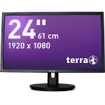 "Wortmann AG 2435W HA 24"" Full HD LED Black computer monitor"