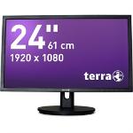 "Wortmann AG 2435W HA 24"" Full HD TN Black computer monitor"