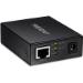 Trendnet TFC-FSFP convertidor de medio 100 Mbit/s Multimodo, Monomodo Negro