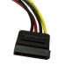 StarTech.com 6in 4 Pin Molex to SATA Power Cable Adapter SATAPOWADAP