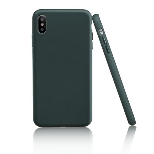 Garbot Corium Nappa Leather Case for Iphone XS Max Verde Sagitta
