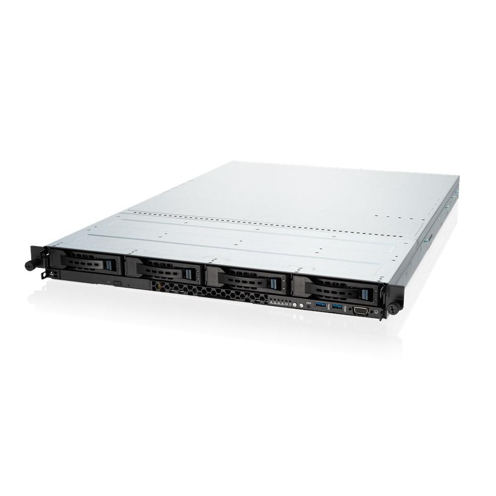 ASUS RS500A-E10-PS4 Socket SP3 Rack (1U) Black, Grey