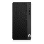 HP 285 G3 AMD Ryzen 5 2400G 8 GB DDR4-SDRAM 256 GB SSD Black Micro Tower PC