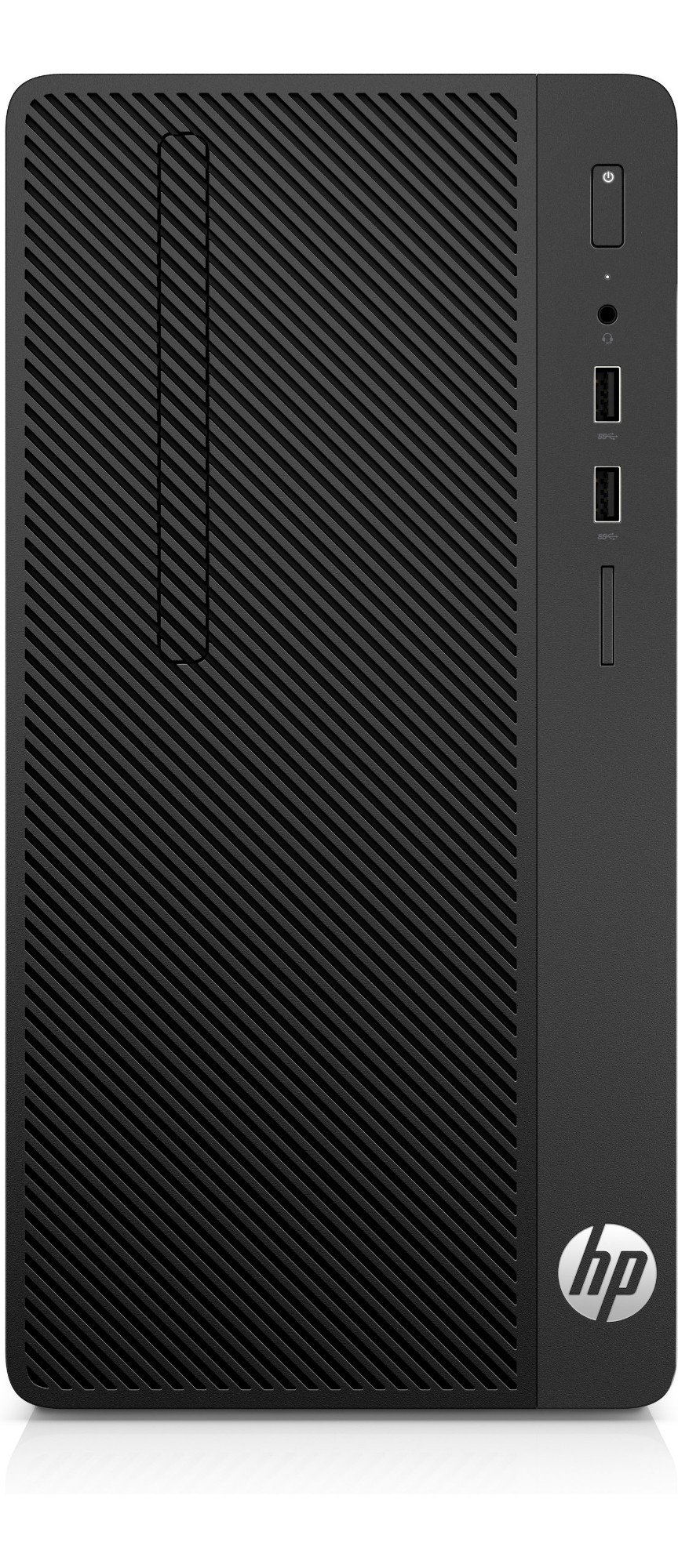 HP 285 G3 AMD Ryzen 5 2400G 8 GB DDR4-SDRAM 256 GB SSD Black Micro Tower PC