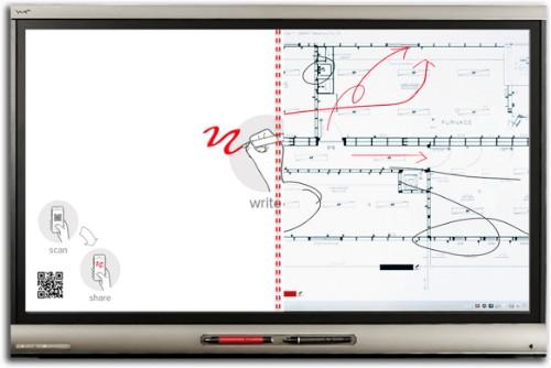 "SMART Technologies SMART Board 6075 Pro interactive whiteboard 190.5 cm (75"") Touchscreen 3840 x 2160 pixels HDMI Black"