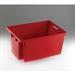 FSMISC STACK/NEST BOX 600X400X300MM RED