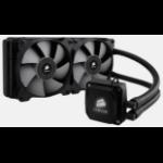 Corsair Hydro H100i Processor Cooler 12 cm Black