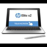 "HP Elite x2 1012 G1 1.1GHz m5-6Y54 Intel® Core™ M 12"" 1920 x 1080pixels Touchscreen Silver Hybrid (2-in-1)"
