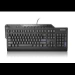 Lenovo 73P2623 USB AZERTY Belgian, UK English Black keyboard