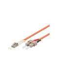 Microconnect LC-SC, 50m fiber optic cable OM1 Orange
