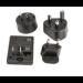Honeywell 213-029-001 adaptador de enchufe eléctrico Universal Negro