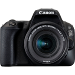 Canon EOS 200D + EF-S 18-55mm f/4-5.6 IS STM SLR Camera Kit 24.2MP CMOS 6000 x 4000pixels Black
