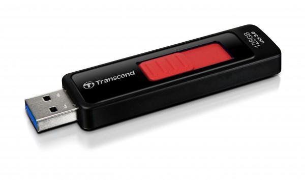 Transcend JetFlash elite 760, 128GB 128GB USB 3.0 Black,Red USB flash drive