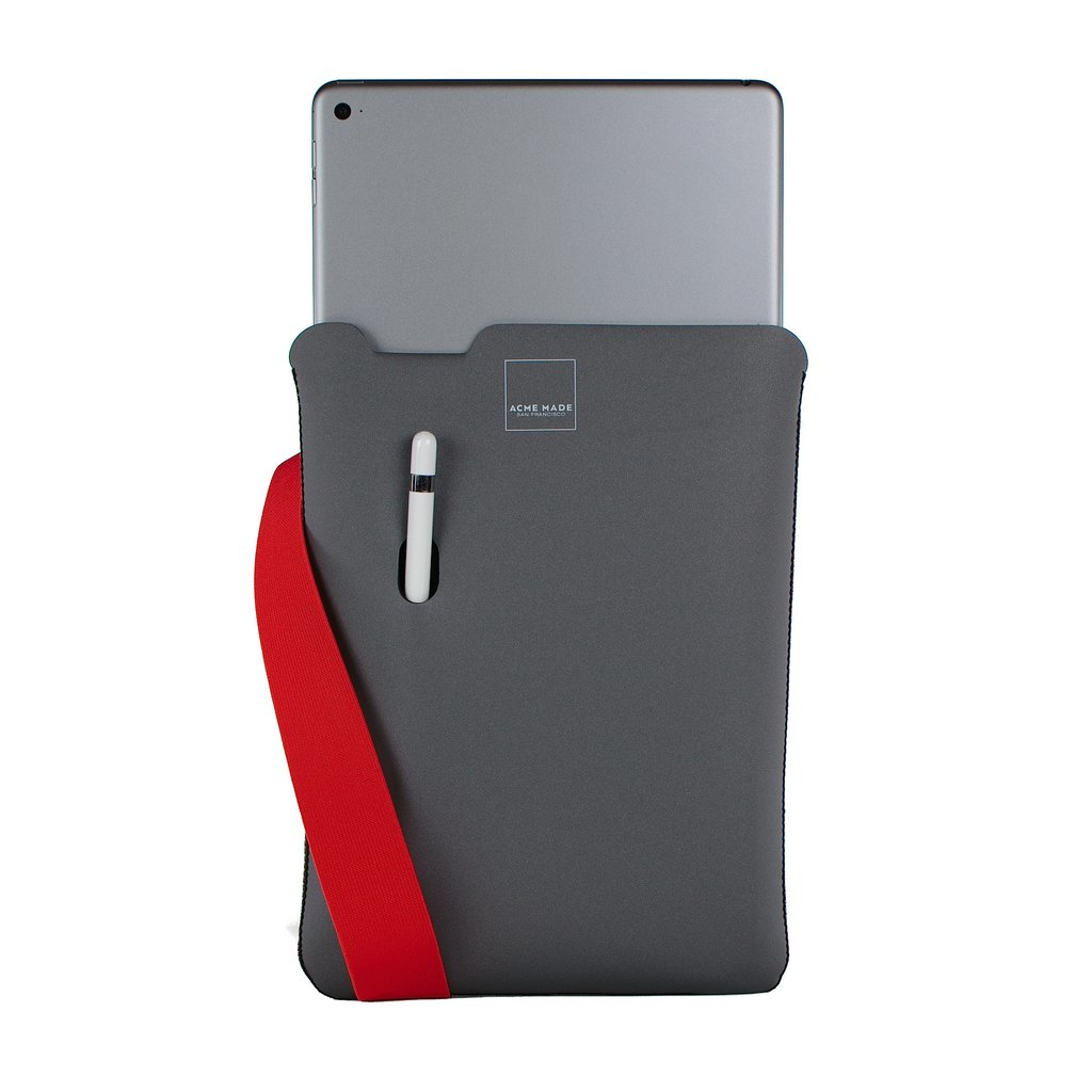 "Acme Made AM10621-SLV SKINNY SLEEVE GRAY POPPY FOR IPAD PRO 9.7IN 24.6 cm (9.7"") Sleeve case Grey,Orange"