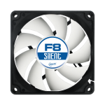 ARCTIC F8 Silent 3-Pin fan with standard case