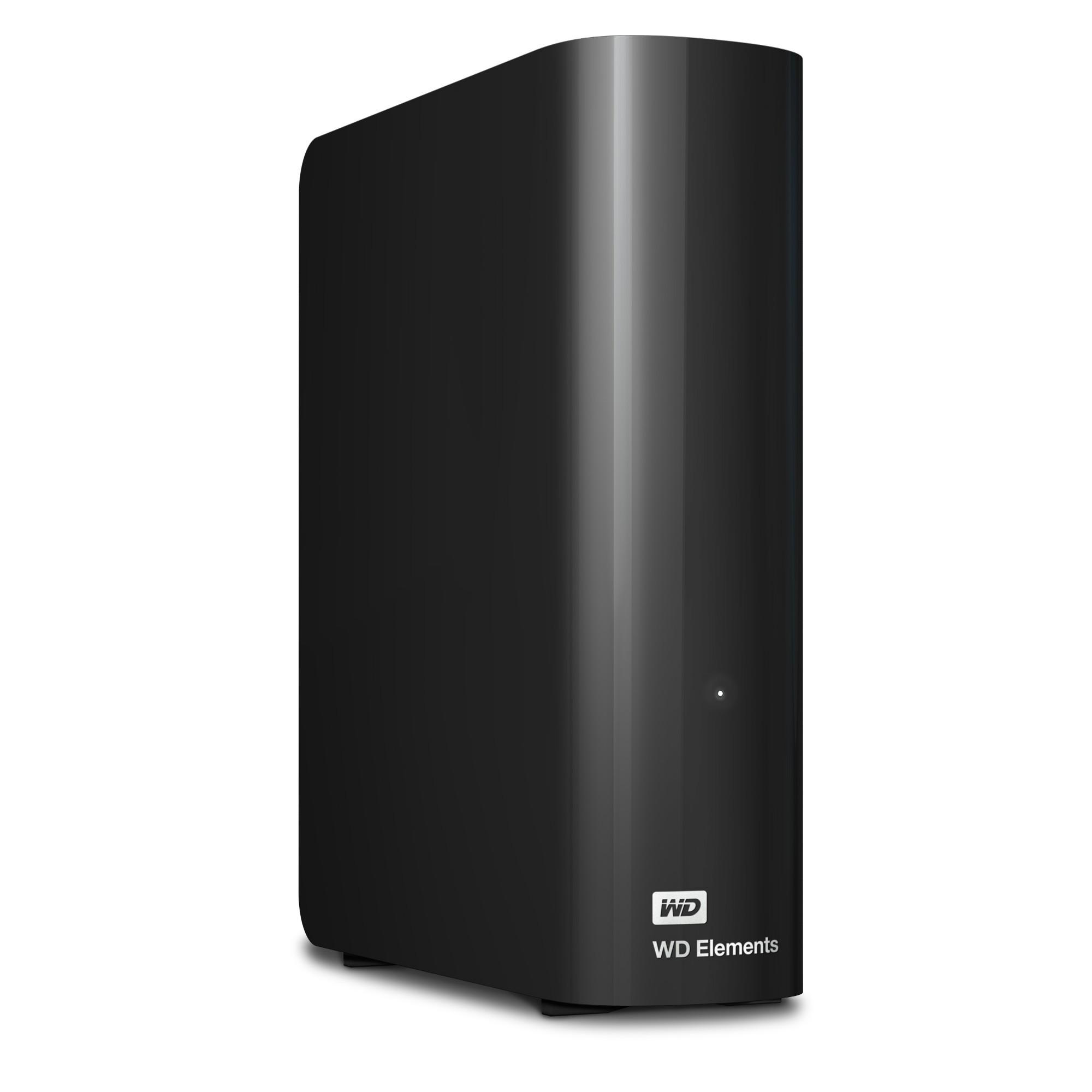 Western Digital WD Elements, 3TB 3.0 (3.1 Gen 1) 3000GB Black